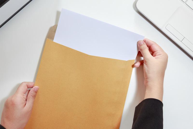 履歴書にESに!重要書類を郵送するときのマナーをチェック